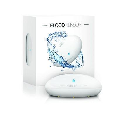 "Fibaro ""Flood Sensor"" - Détecteur d'inondation"