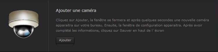 Ajouter une caméra