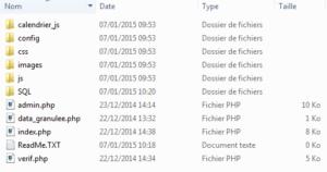Fichiers GSG