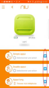 Paramétrage NIU avec IFTTT