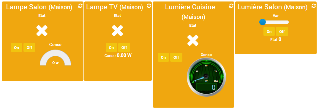 lumières interrupteur variateur