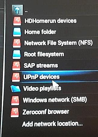 UPnP-devices