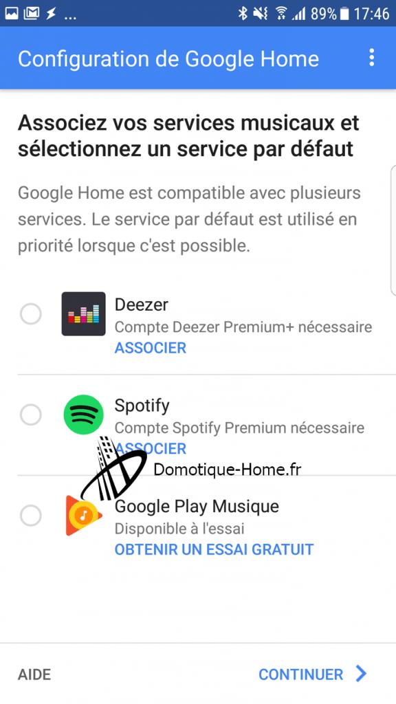 Google-Home-configuration