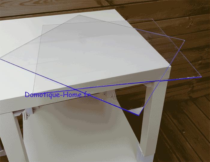 Ikea LACK Meuble Imprimante 3D