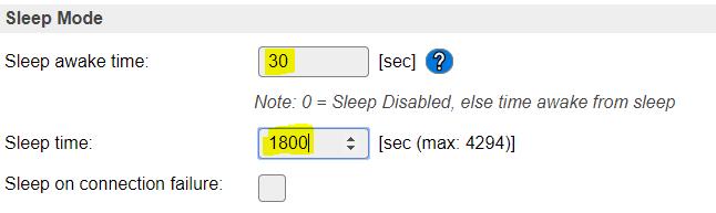 deep sleep esp01